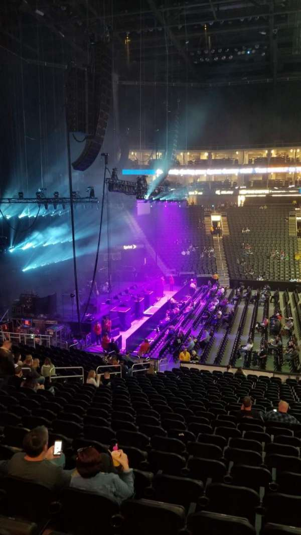 Sprint Center, section: 107, row: 25, seat: 5