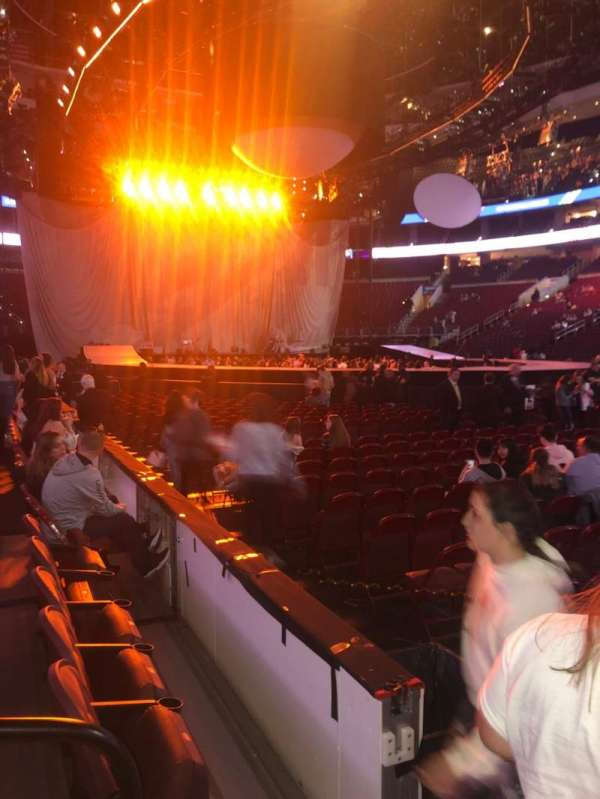 Wells Fargo Center, section: 103, row: 3, seat: 2