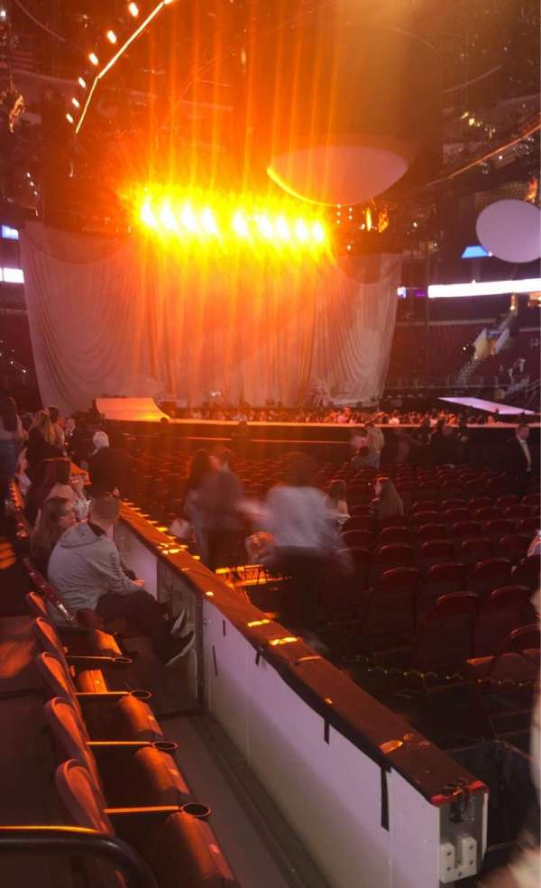 Wells Fargo Center, section: 103, row: 3, seat: 1