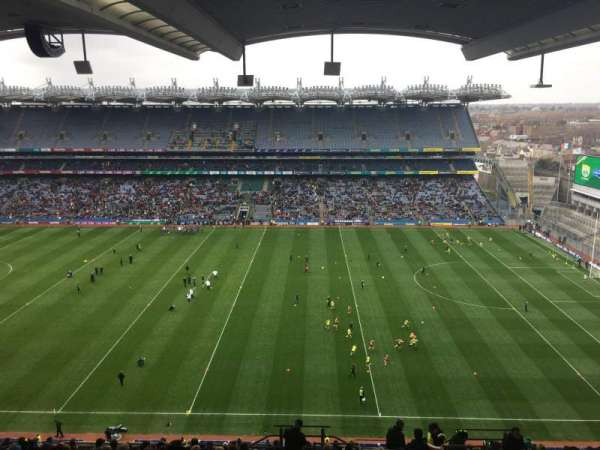 Croke Park, section: 705, row: W, seat: 23