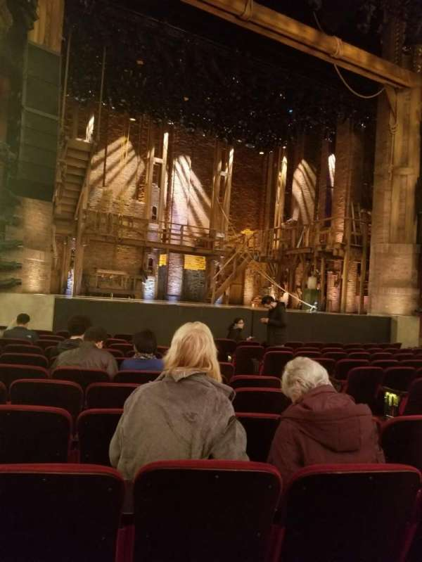 CIBC Theatre, section: Orchestra L, row: M, seat: 9