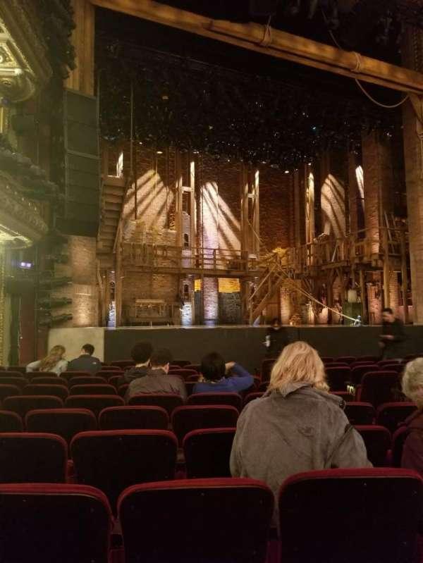 CIBC Theatre, section: Orchestra L, row: M, seat: 11