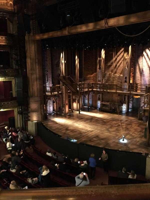 CIBC Theatre, section: Mezzanine R, row: A, seat: 6