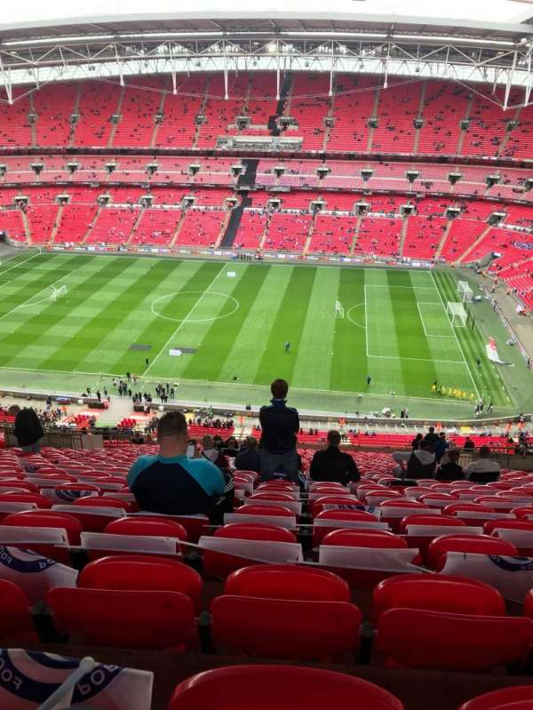 Wembley Stadium, section: 550, row: 32, seat: 330