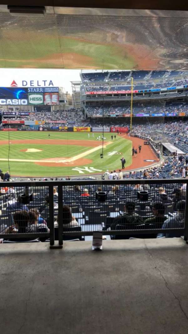 Yankee Stadium, section: 121A, row: 17S, seat: 8-9