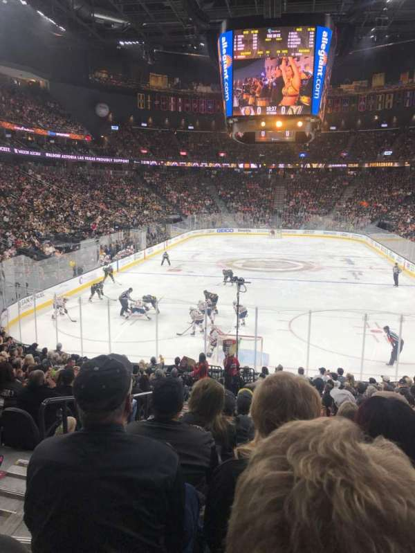 T-Mobile Arena, section: 11, row: R, seat: 2