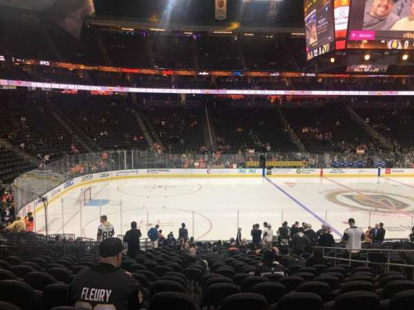 T-mobile arena , section: 14, row: T, seat: 12