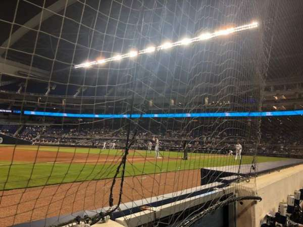 Marlins Park, section: FL 10, row: AA, seat: 1