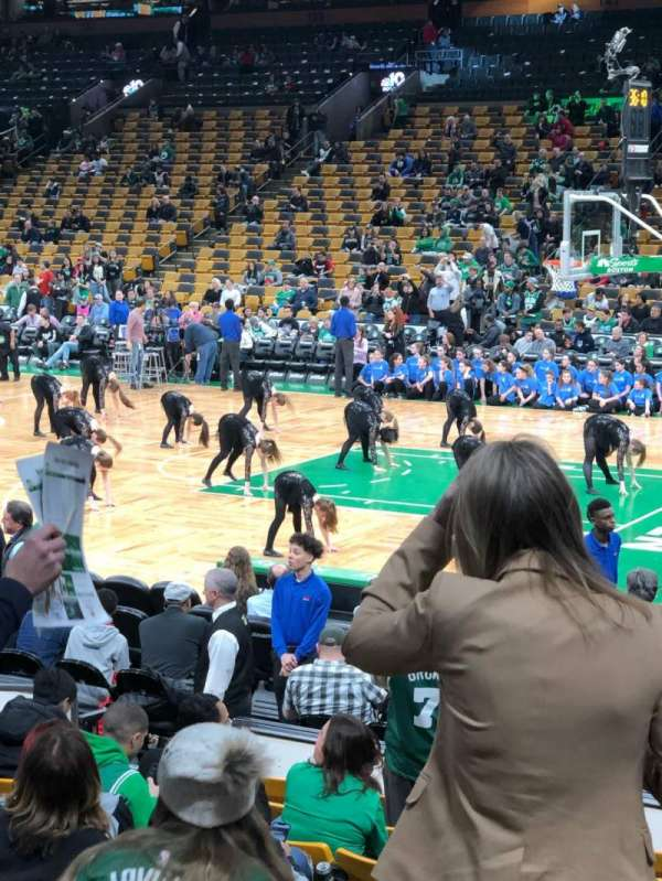 TD Garden, section: LOGE 21, row: 11, seat: 4
