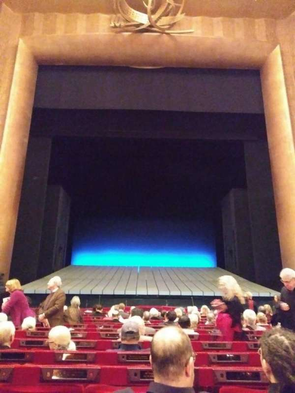 Metropolitan Opera House - Lincoln Center, section: Orchestra, row: N, seat: 109