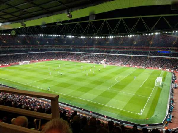 Emirates Stadium, section: 109, row: 9, seat: 488