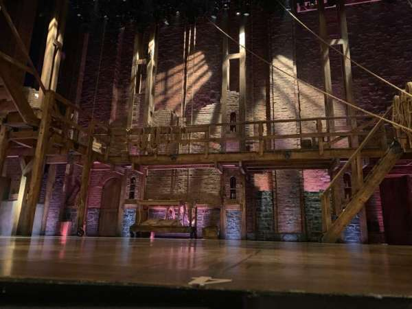 Richard Rodgers Theatre, section: Orchestra center, row: CC , seat: 103