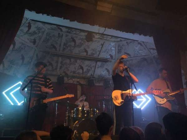 The Deaf Institute, section: Standing