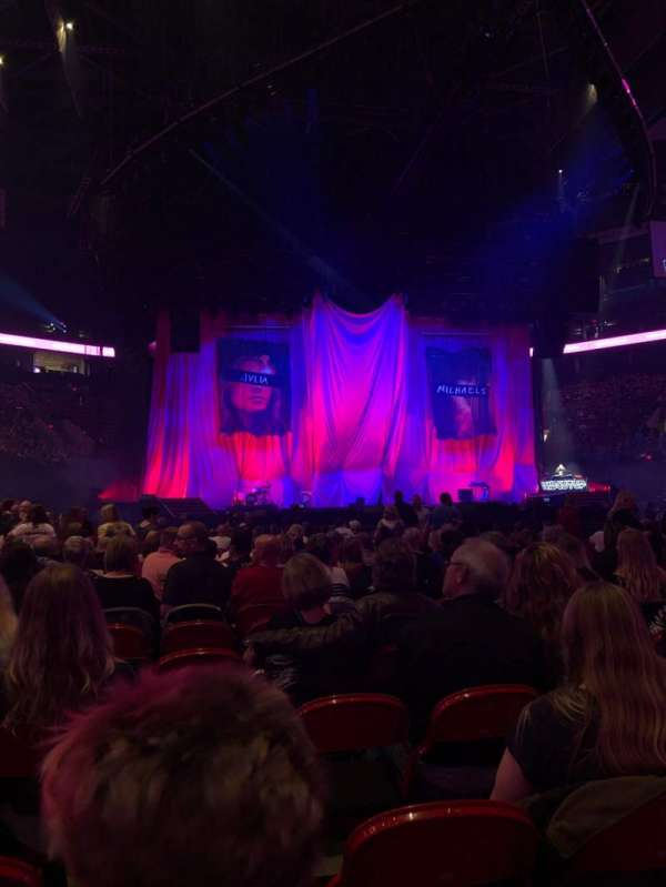 Moda Center, section: Floor, row: 25, seat: 39