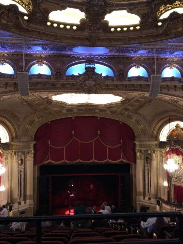 Citizens Bank Opera House, section: Balcony Center, row: P, seat: 111