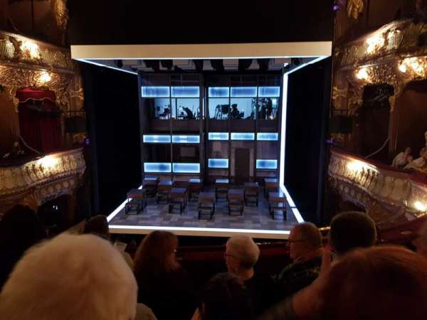 Apollo Theatre, section: Dress circle, row: D, seat: 14
