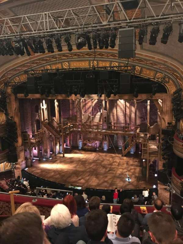 Richard Rodgers Theatre, section: Front Mezzanine, row: F, seat: 8