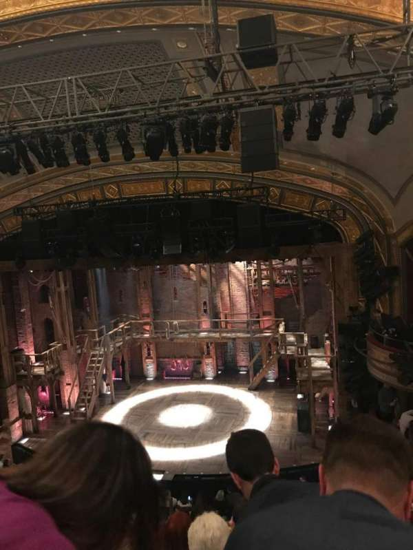 Richard Rodgers Theatre, section: FMezz, row: F, seat: 6