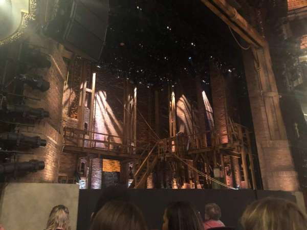 CIBC Theatre, section: Orchestra L, row: F, seat: 15