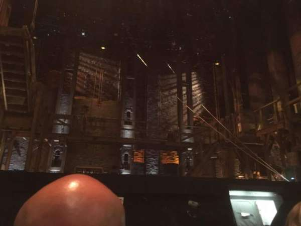 Orpheum Theatre (San Francisco), section: Orchestra, row: B, seat: 105