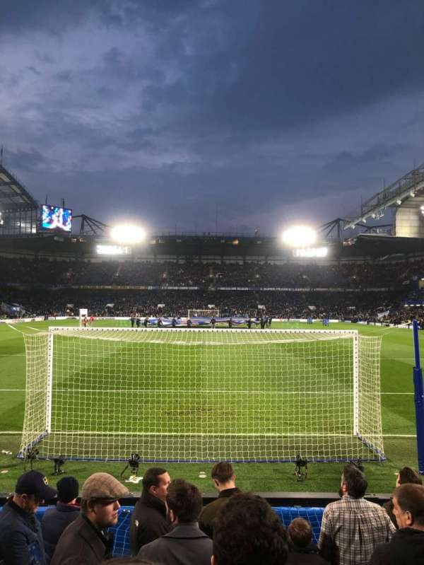 Stamford Bridge, row: 9, seat: 110