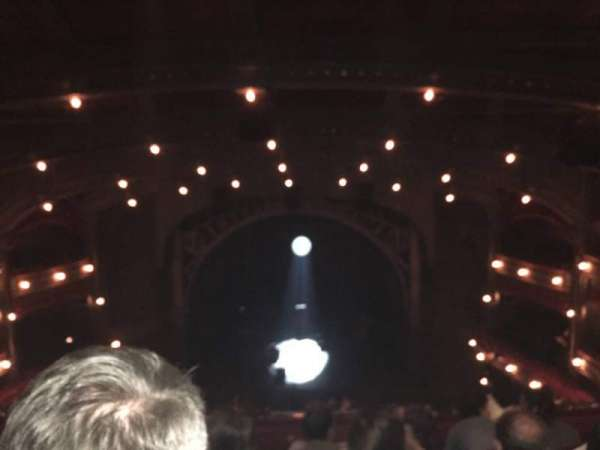 Lyric Theatre, section: Balcony C, row: D, seat: 112