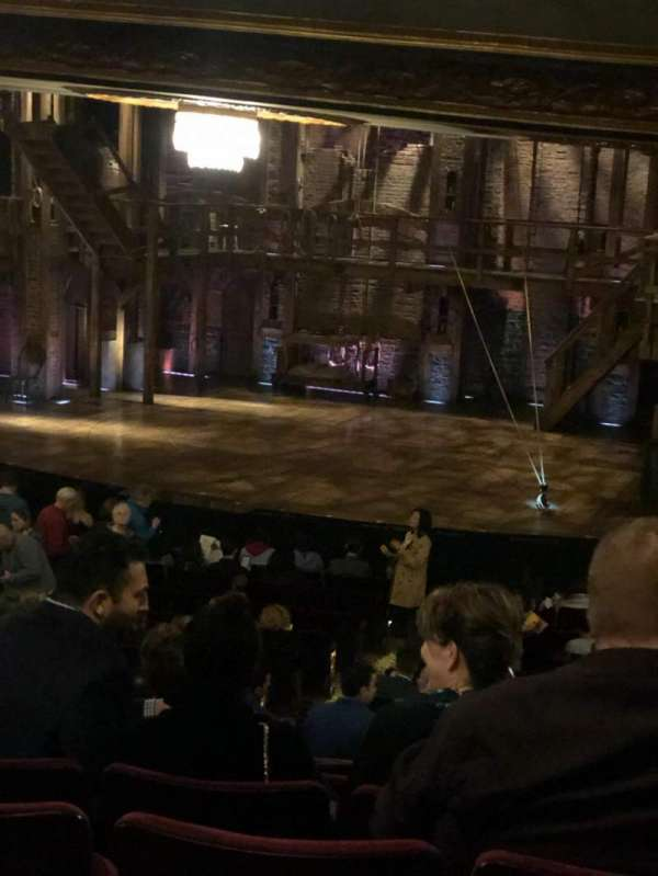 Richard Rodgers Theatre, section: Right orchestra, row: U , seat: 18