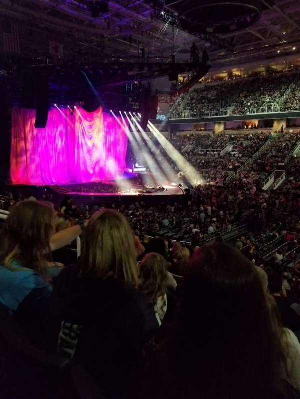 SAP Center, section: 114, row: 19, seat: 4