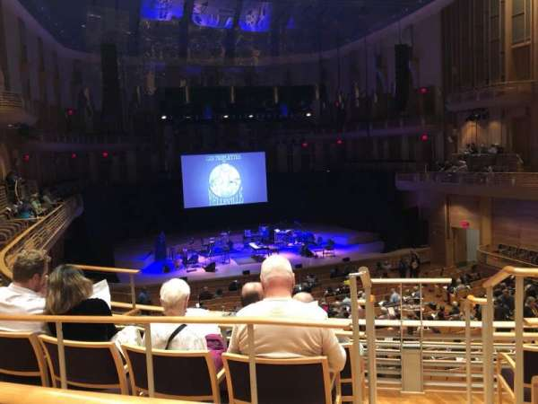 The Music Center at Strathmore, section: Promenade, row: B, seat: 3