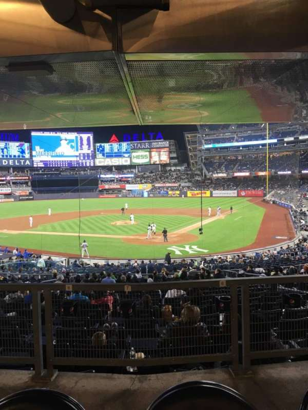 Yankee Stadium, section: 121a, row: 17s, seat: 4