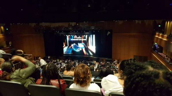 The Theater at MGM National Harbor, section: 302, row: L, seat: 14