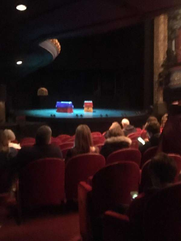 Royal Lyceum Theatre, section: Stalls, row: K, seat: 29