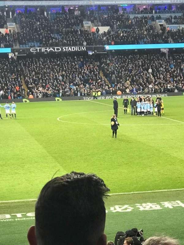 Etihad Stadium (Manchester), section: 127, row: V, seat: 756