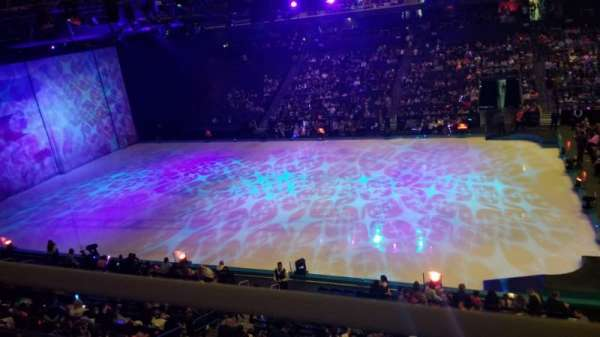 Citizens business bank arena, section: 215, row: A, seat: 9