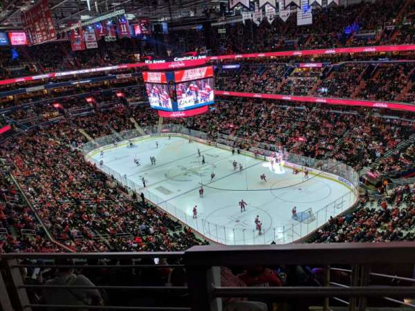 Capital One Arena, section: 422, row: G, seat: 15