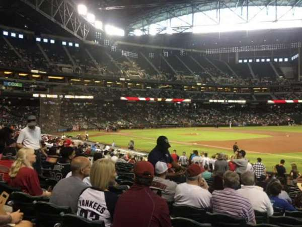 Chase Field, section: 113, row: 22, seat: 10