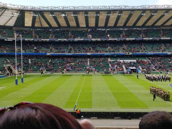 Twickenham Stadium, section: L27, row: 33, seat: 262