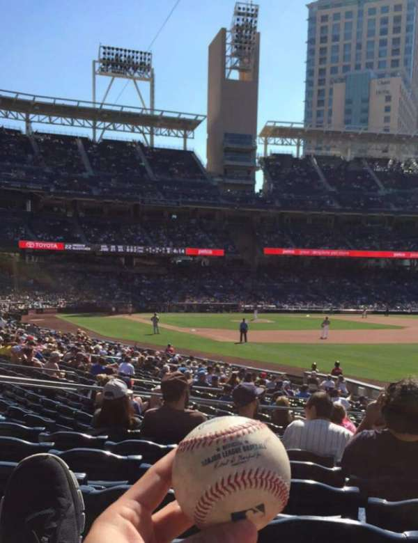 PETCO Park, section: 121, row: 25, seat: 7