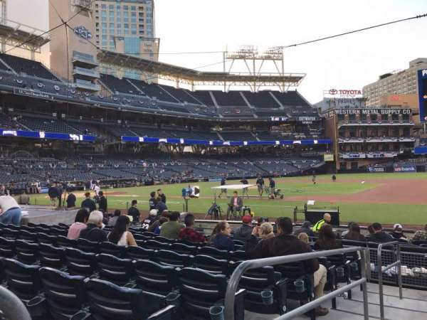 PETCO Park, section: 111, row: 13, seat: 1