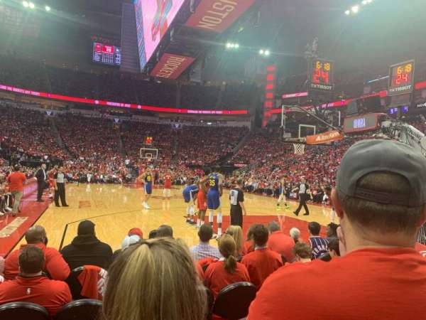 Toyota Center, section: 114, row: D , seat: 10