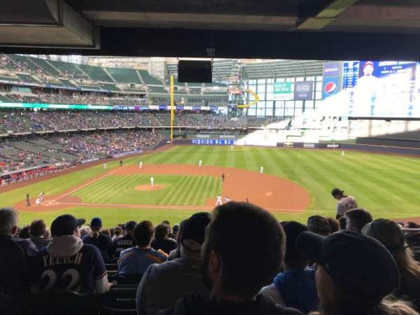 Miller Park, section: 213, row: 20, seat: 18