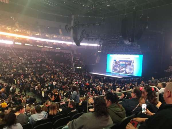 Sprint Center, section: 118, row: 17, seat: 4,5