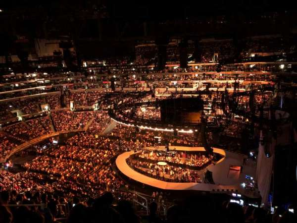 Staples Center, section: 332, row: 12, seat: 15