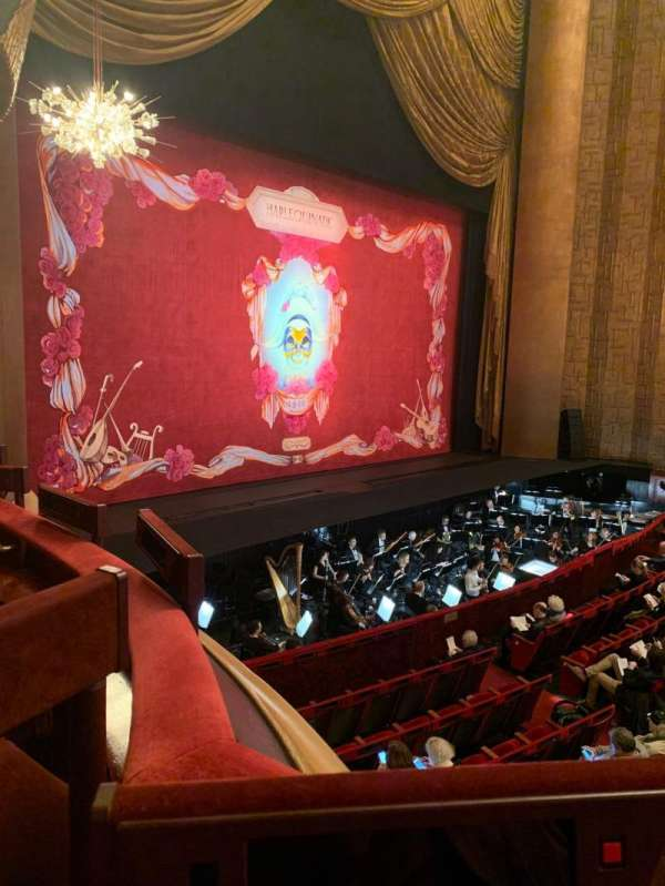 Metropolitan Opera House - Lincoln Center, section: Parterre, row: 5, seat: 3