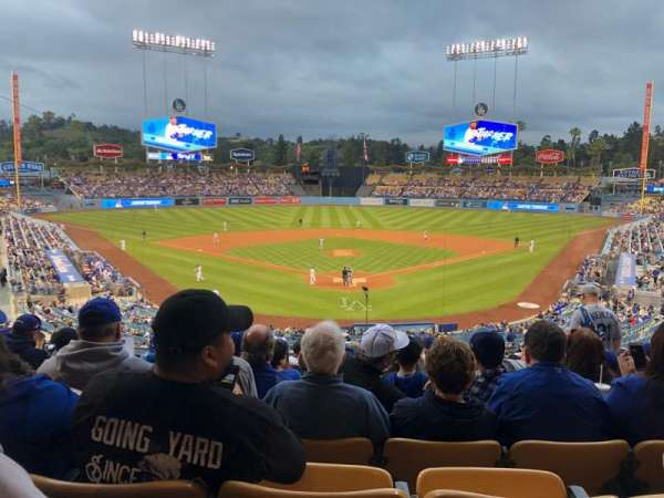 Dodger Stadium, section: 101LG, row: N, seat: 5
