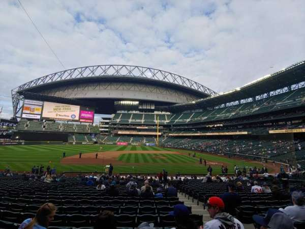 T-Mobile Park, section: 138, row: 29, seat: 3