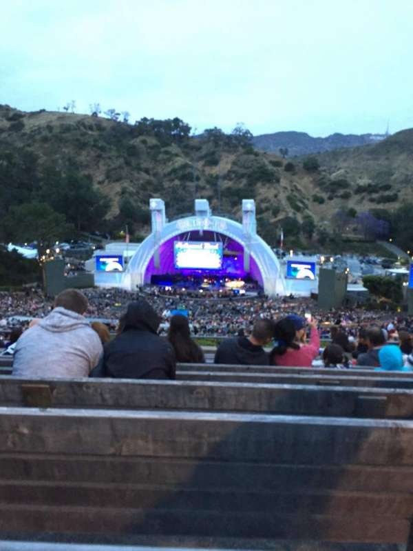 Hollywood Bowl, section: R2, row: 11, seat: 26