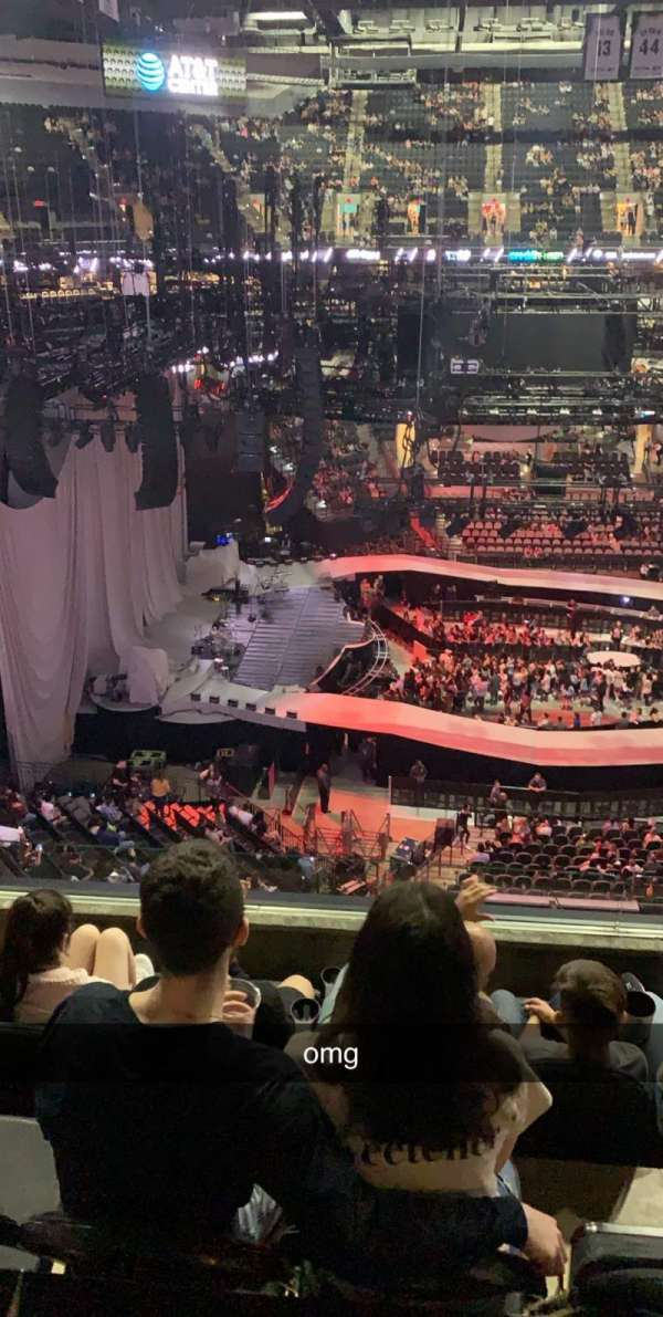 AT&T Center, section: 210, row: 5, seat: 8