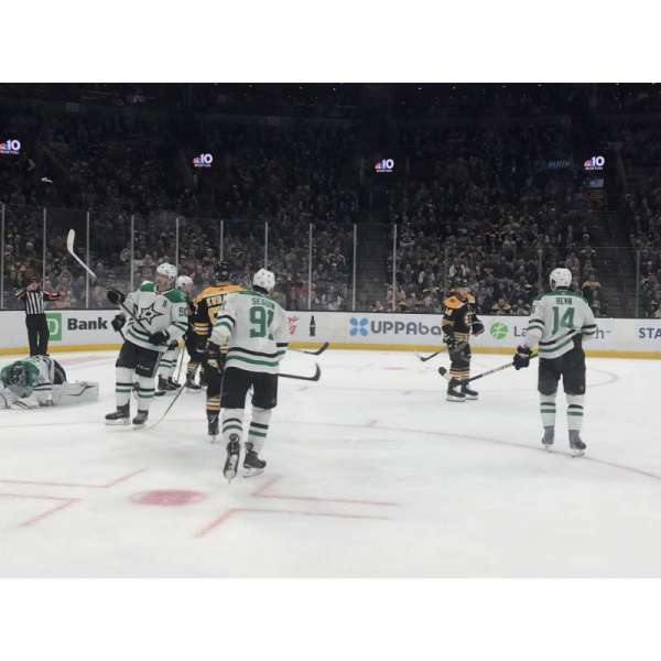 TD Garden, section: 14, row: 2, seat: 3