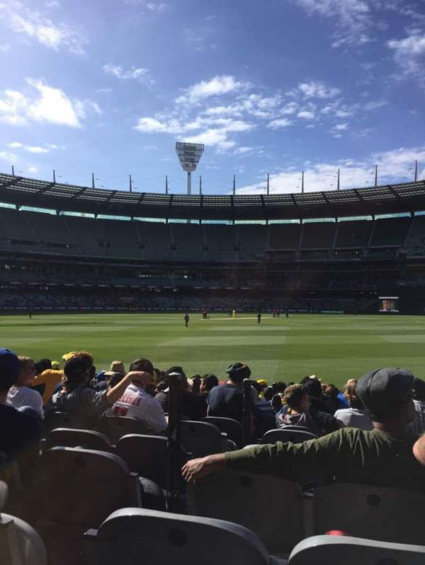 Melbourne Cricket Ground, section: M13, row: 12, seat: 3